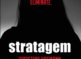 Image of the cover for the novel, Stratagem.