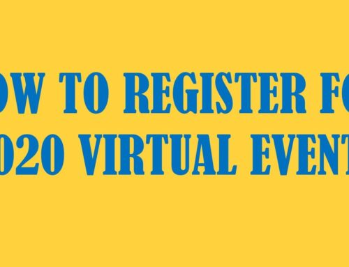 How to Register for Virtual Events – Video Tutorial