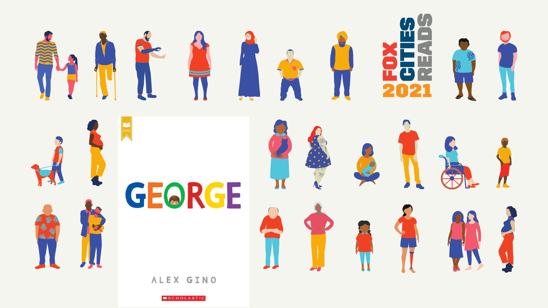 Groups of people with George cover