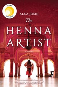 """Book cover of, """"The Henna Artist"""""""