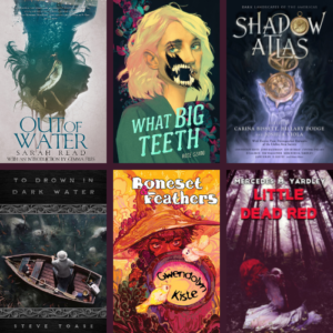 Book Covers for Authors on Horror Panel