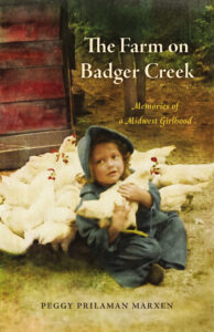 """Book cover for, """"The Farm on Badger Creek"""""""