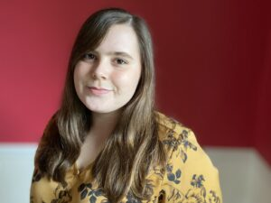 Author photo of Kelsey Rodkey.