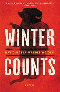 Book cover, Winter Counts.