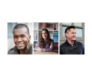 Authors Jason Mott, Christina Sweeney-Baird, and Mike Chen